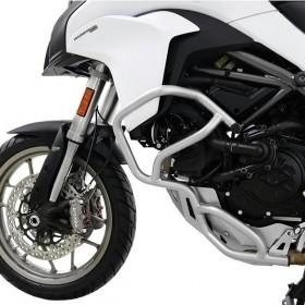 IBEX padací rám Ducati Multistrada 950 (2017-2018), stříbrný (pár - 2ks)