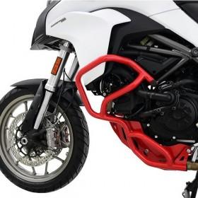 IBEX padací rám Ducati Multistrada 950 (2017-2018), červený (pár - 2ks)
