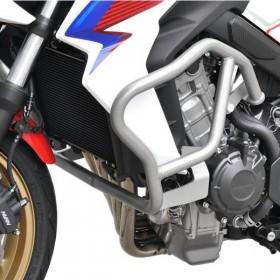 IBEX padací rám Honda CB 650 F (2014-2018), stříbrný (pár - 2ks)