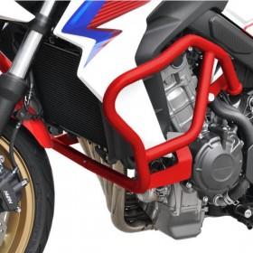 IBEX padací rám Honda CB 650 F (2014-2018), červený (pár - 2ks)