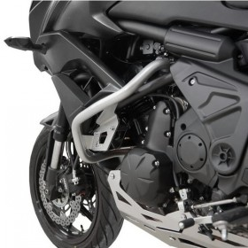 IBEX padací rám Kawasaki Versys 650 (2015-2018), stříbrný (pár - 2ks)