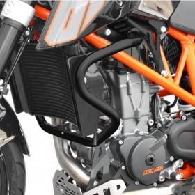 IBEX padací rám KTM 690 Duke (2012-2018), černý (pár - 2ks)