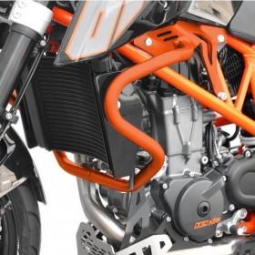 IBEX padací rám KTM 690 Duke (2012-2018), oranžový (pár - 2ks)