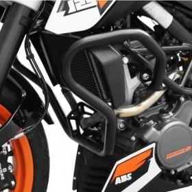 IBEX padací rám KTM 390 Duke (2013-2016), černý (pár - 2ks)