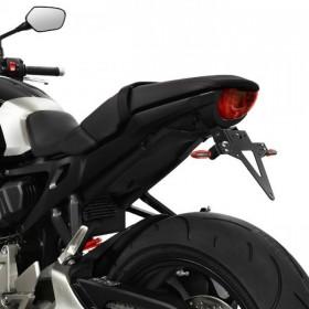 Držák SPZ Honda CB 1000 R, (2018), nastavitelný, černý