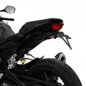 Držák SPZ Honda CB 300 R, (2018), nastavitelný, černý