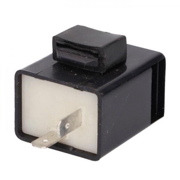 Univerzální přerušovač LED blinkrů, dvoupólový, se zvukovou signalizací, 12V / 1-100W