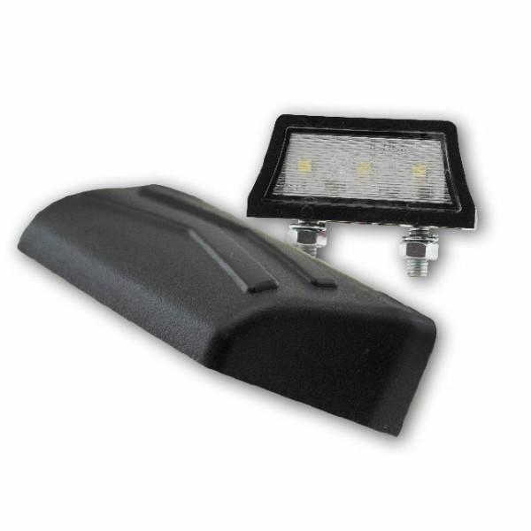 SMD LED osvětlení SPZ,  AXIS, černé, ABS plast, 52 x 14 x 24 mm
