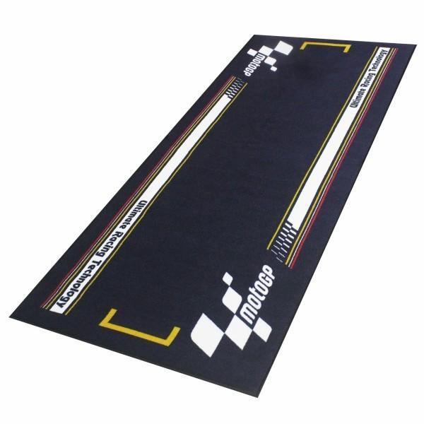 Moto GP koberec pod motocykl, 190 x 80 cm, barva černá