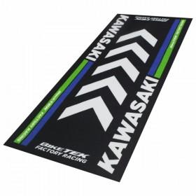 Kawasaki koberec pod motocykl, 190 x 80 cm, barva černá