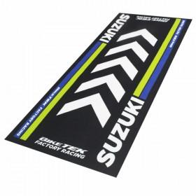 Suzuki koberec pod motocykl, 190 x 80 cm, barva černá