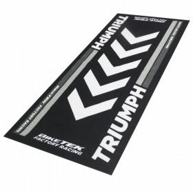 Triumph koberec pod motocykl, 190 x 80 cm, barva černá