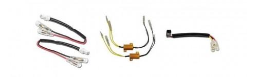 Kabely a odpory k blinkrům